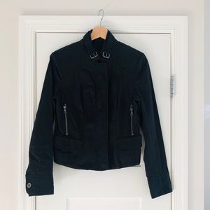 Express Black Moto Jacket